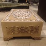 Versace Embossed coffee table